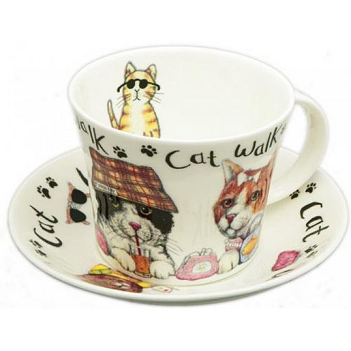 Чайная пара с котами
